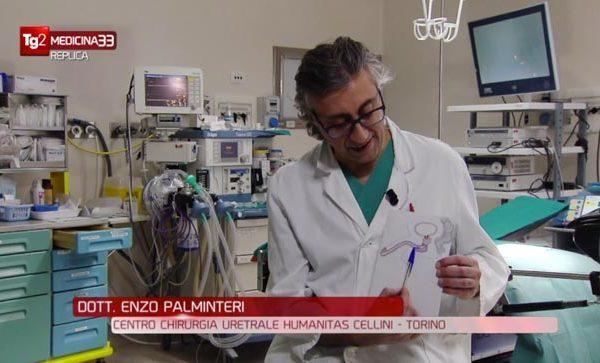 Dott. Enzo Plaminteri a Medicina33 - Rai2 - Chirurgia Uretrale